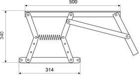 Механизм подъёма 484 б/п