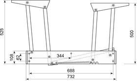Механизм подъема мебельный