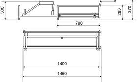 Механизм трансформации диванов тройной расклад