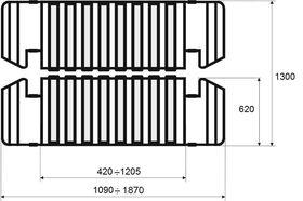 Механизм чехольной мебели
