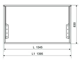 Механизм трансформации для мебели Дельфин 116